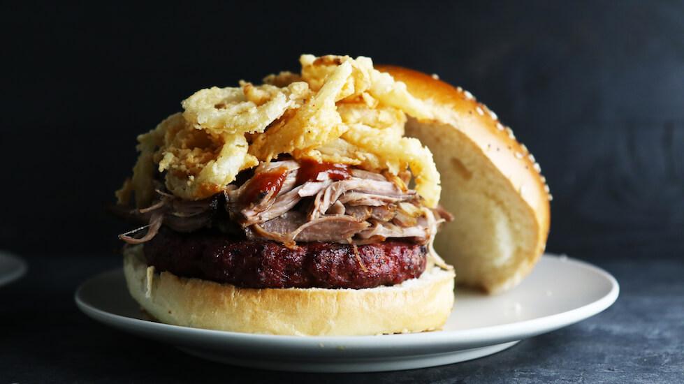 Sassy BBQ Pork Burgers