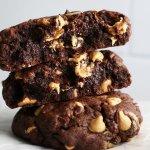 Gooey Chocolate Peanut Butter Chip Cookies